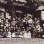 明石中崎公会堂にて(1917年大正6年)